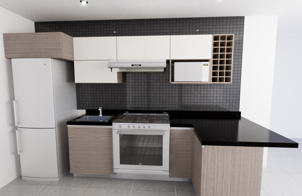 Diseno 3d Cocinas Online - dise o de cocinas 3d gratis, dise os ...